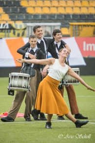 Beatrix (Hilversum, Netherlands) during their performance at the DCE-Finals 2017 in Kerkrade, Netherlands